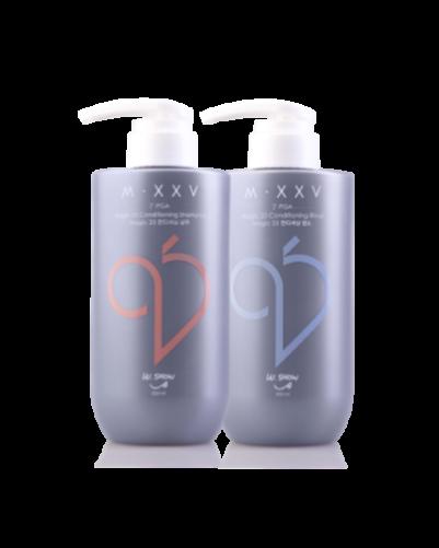 調理洗髮精+滋養潤髮乳